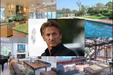 Sean Penn met sa villa de Malibu en vente