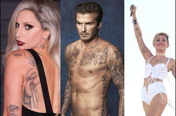 La folie des tatouages des stars