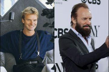 Retour en images sur les looks de Sting