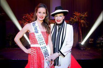 Geneviève de Fontenay a élu sa Miss Paris Ile de France 2014