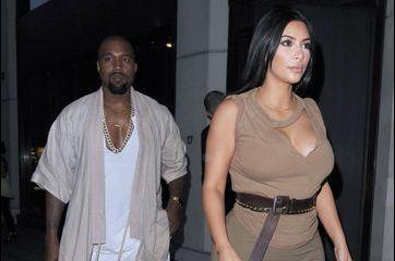 Kim Kardashian dévoile ses rondeurs à Londres