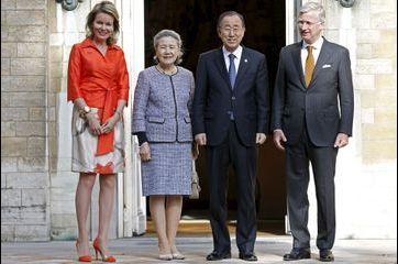 Ban Ki-moon a répondu à l'invitation de Mathilde