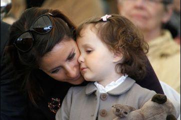 Marie, maman câline au zoo