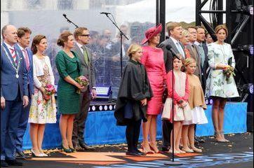 Une reine et sept princesses pour Willem-Alexander