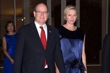 Charlène de Monaco et Albert rayonnent de bonheur
