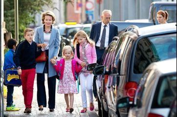 Belgique: la rentrée des princes et des princesses