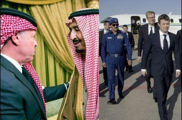 Royal défilé à Riyad