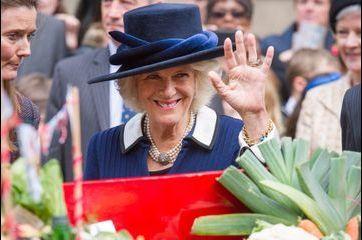 Camilla soutient les circuits courts