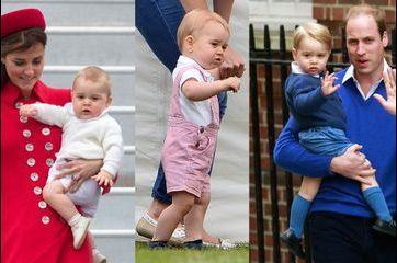 Baby George, des looks pas seulement british