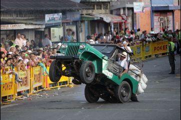 Les Colombiens sont fous des Jeep Willys