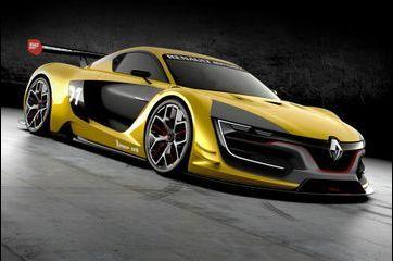 Renault Sport R.S. 01 : Losange pressé