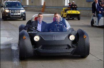 Voici la première voiture imprimée en 3D
