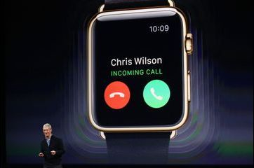 Tim Cook donne des détails sur l'Apple Watch