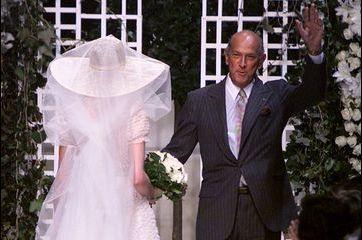 Oscar de la Renta, créateur de la robe de mariée d'Amal