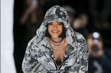 Le triomphe de Rihanna à la Fashion Week