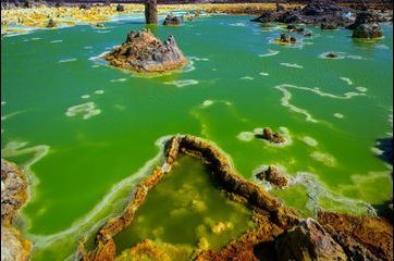 Dallol, le volcan alien