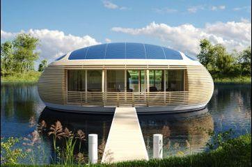 WaterNest 100, la maison flottante de l'avenir