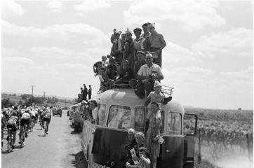 En 1954, la France du tour