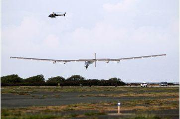Solar Impulse 2 s'est posé à Hawaï