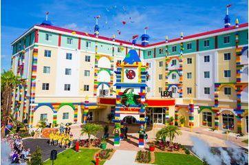 Le nouvel hôtel dédié à l'univers Lego