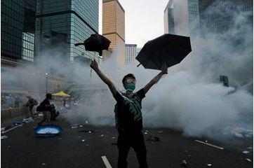 Hong Kong. La révolution de l'ombrelle