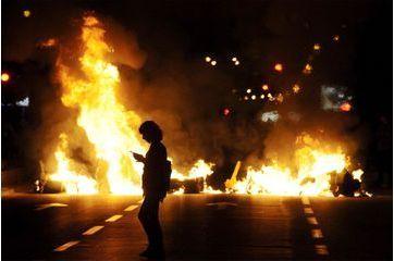 La colère du peuple macédonien