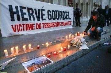 L'hommage des Français à Hervé Gourdel