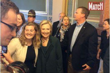 En campagne avec Hillary Clinton