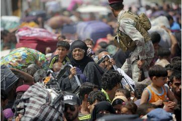 L'exode massif des Sunnites d'Irak