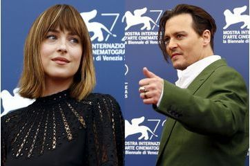 Johnny Depp et Dakota Johnson s'imposent