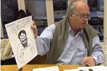 """Quand Charlie Hebdo imaginait """"C'est dur d'être imaginé par des cons"""""""
