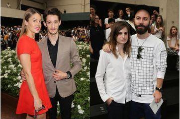 Les duos de stars au premier rang du défilé Dior Homme