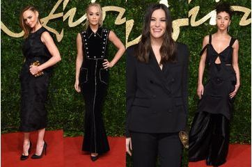 Les stars aux British Fashion Awards 2015