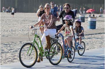Balade à vélo avec Jade et Joy