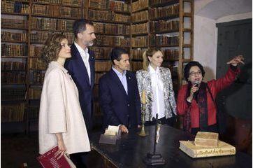 Letizia et Felipe font du tourisme au Mexique