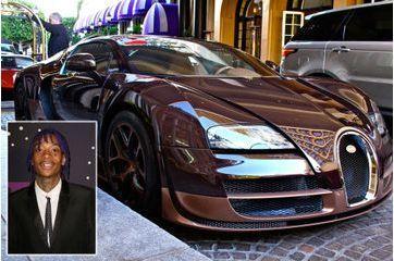 L'incroyable Bugatti Veyron du rappeur Wiz Khalifa