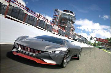 Le bolide virtuel de Peugeot