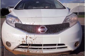 Nissan invente la peinture auto-nettoyante
