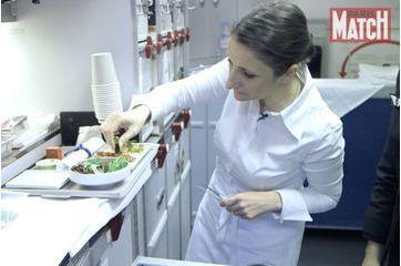 Anne-Sophie Pic, un chef trois étoiles à bord d'Air France