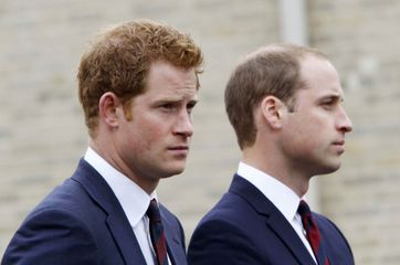 Harry et William à la rencontre des héros de guerre