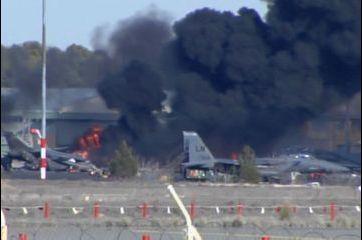 Crash d'un F-16 en Espagne : 9 Français morts