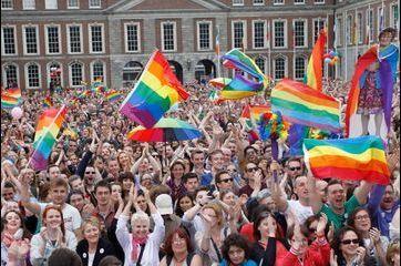 Dublin célèbre le mariage gay