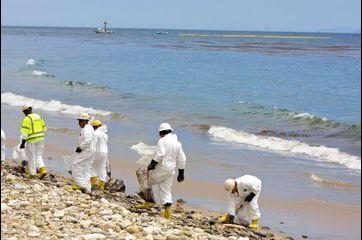 Opération nettoyage à Santa Barbara