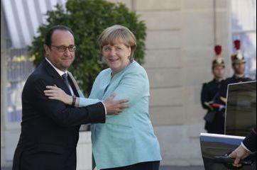 Hollande et Merkel sur la même longueur d'ondes
