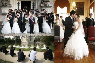 Quand Jean Germain mariait les amoureux chinois