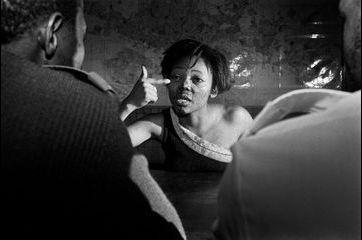 Les combattants de la photo sud-africaine