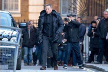 James Bond, star londonienne