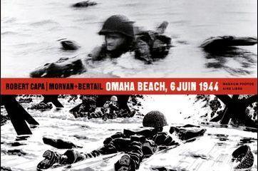 """Capa et le Jour J: """"Omaha Beach, 6 juin 1944"""""""