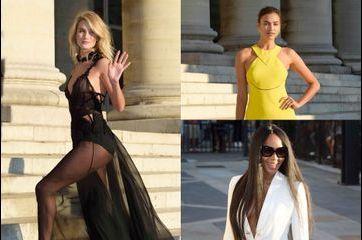 Défilé de beautés pour Atelier Versace