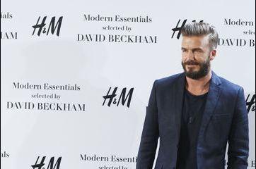 David Beckham, élégant et détendu pour H&M